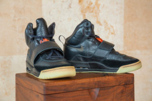 """Sotheby's Selling Kanye West's $1M+ """"Grammy-Worn"""" Nike Air Yeezy Sample From 2008"""