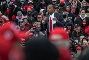 Black Man Ben Carson Defends GA Voting Law, Doesn't Understand Racial Inequality