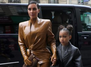 Kim Kardashian Shares Photo of Alleged North West Painting, Twitter Says It's Bob Ross' Work