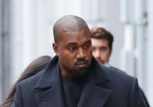 Rorschach Yeezy: Kanye West Spotted Rocking Full Face Mask