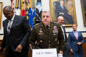 Joint Chiefs Chairman Gen. Mark Milley Schools Congress On White Rage & Critical Race Theory