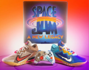 HHW Gaming:  Xbox Teams Up With Nike For 'Space Jam: A New Legacy' SNKRS Kit Featuring The Lebron 18 Low