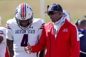 Respect The Name: Jackson State Coach Deion Sanders Walks Out Of Press Conference After Reporter Used First Name