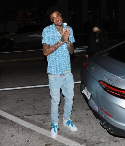 Blueface Attacked By Fan After Giving The Fade To TikTok Star