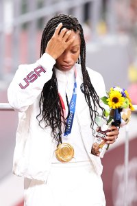 Black Gold: Allyson Felix Becomes The Most Decorated American Track Olympian Ever