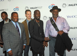 Video Of Wendell Pierce Giving Michael K. Williams His Flowers Goes Viral