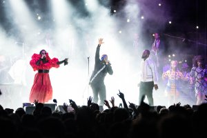 Fugees Reunite For 1st Time In 15 Years At New York's Pier 17, World Tour Launching Soon [Photos]