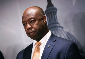 """GOP Shoe Buffer Sen. Tim Scott Allegedly Lied About """"Defunding The Police"""" Claims In Policing Reform Discussions"""